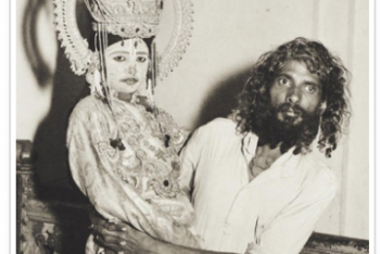 Ramayare Actor with His Bearer