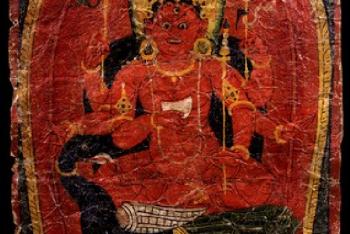 Skanda, the female consort of Skanda Kartikeya