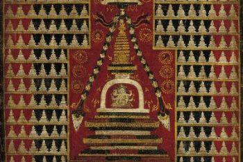 Ushnishavijaya with Myriad Stupas