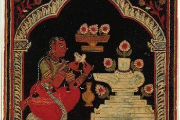 Ragamala Album: Bhairavi Ragini