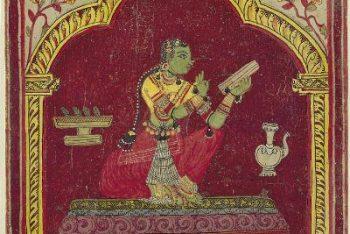 Ragamala Album: Dhanasri Ragini