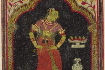 Ragamala Album: Gandharika Ragini