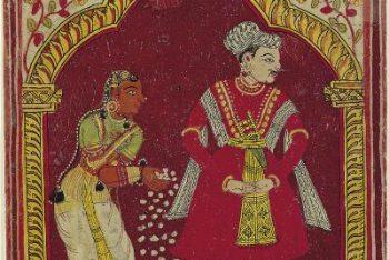Ragamala Album: Karnatika Ragini