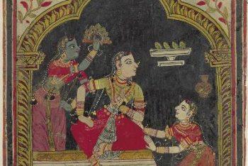 Ragamala Album: Kshamavati Ragini
