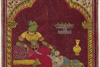 Ragamala Album: Ramakari Ragini