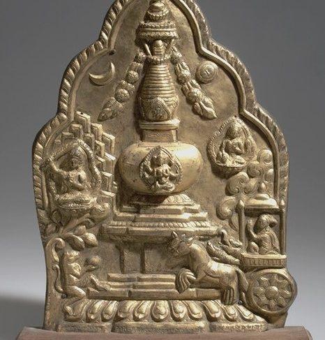 Stupa (Buddhist Reliquary) – Metal