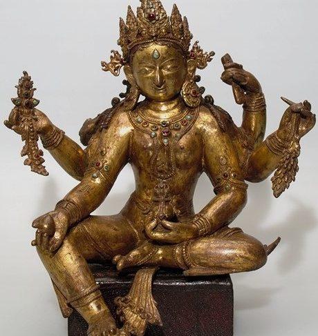 Vasudhara (Buddhist Deity with Broken Arm)