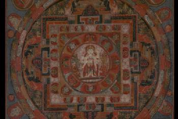 Mandala of Avalokiteshvara (Bodhisattva & Buddhist Deity) – Amoghapasha (Unfailing Lasso)