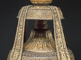 Vase of Longevity (kalasha) with Buddha Amitabha