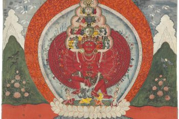 A painting of Guhyakali