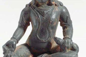 A Bronze Figure of Kubera