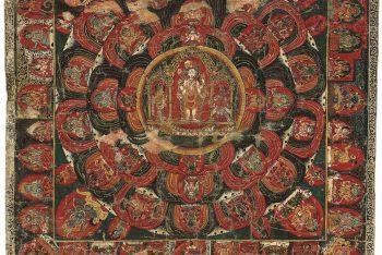 A thangka of Vishnu mandala