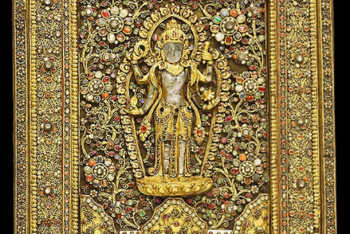 Votive Plaque with God Vishnu