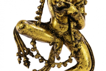 Statuette of Vajravarahi in Gilded Copper Alloy Nepal