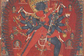 A PAINTING OF CHAKRASAMVARA AND VAJRAVARAHI