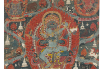 A PAUBHA DEPICTING BUDDHAKAPALA Nepal, 18th Century
