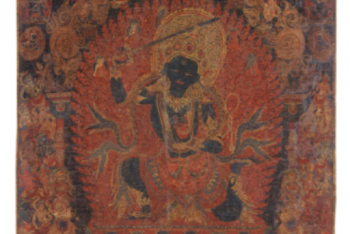A PAUBHA DEPICTING CHANDAMAHAROSHANA