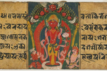 Avalokiteshvara in the form of Rato Matsyendranath