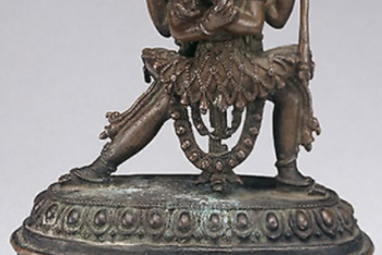 Deities Chakrasamvara and Vajravarahi in Ritual Embrace (Yab-Yum)