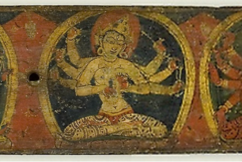 Manuscript Cover from the Fiive Protectors (Pancharaksha)