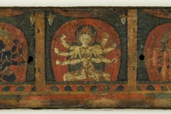 Manuscript Cover from the Five Protectors (Pancharaksha)