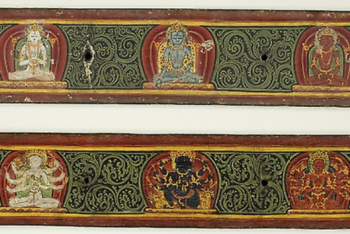 One of a Pair of Manuscript Covers from the Five Protectors (Pancharaksha)