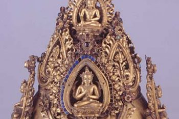 Tiara of Buddhist Officiant