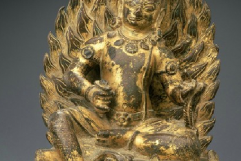 Achala (Buddhist Deity) – Blue, Kneeling