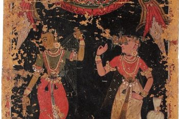 Deceived Heroine (Vipralabdha), Nayika Painting Appended to a Ragamala (Garland of Melodies)
