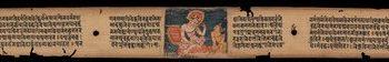 Manjushri and Sudhana, Folio from a Gandavyuha (The Structure of the World)