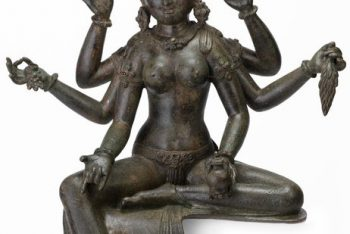 The Buddhist Goddess Vasudhara