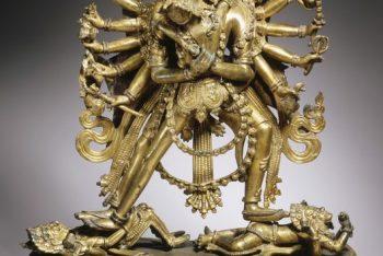 The Buddhist Deities Chakrasamvara and Vajravarahi