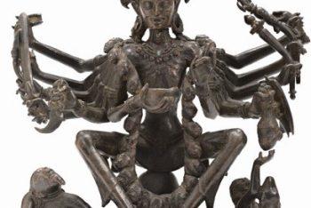 The Hindu Goddess Chamunda