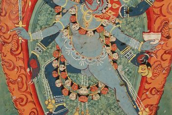The Hindu Goddess Kali and God Bhairava in Union