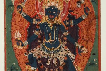 The Hindu Goddess Ugratara (Violent Tara)