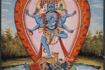 A Shaiva Deity