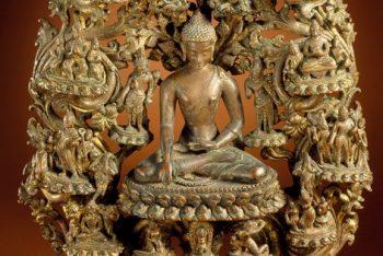 Buddha Shakyamuni and Scenes from the Life of the Buddha