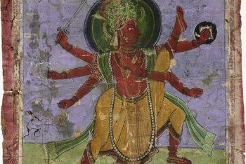 Dwarf Incarnation of Vishnu (Trivikrama)