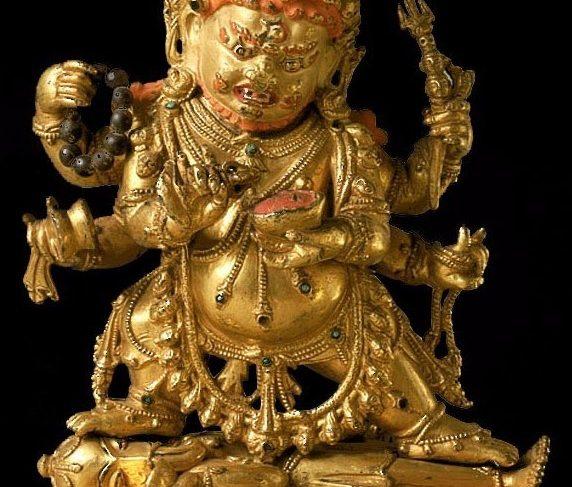 Mahakala (Buddhist Protector) – Shadbhuja (Six-hands, Shangpa)