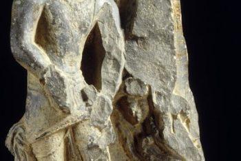 Male Figure (Stele Fragment)