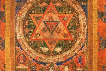 Mandala of Vajrayogini (Buddhist Deity) – (Dancing Posture)