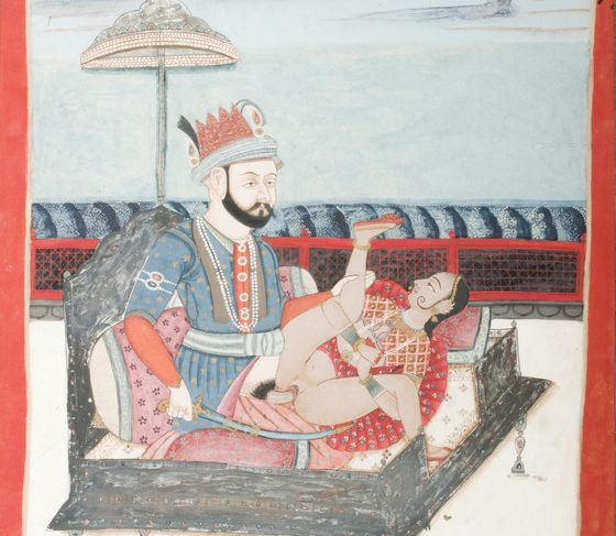 Nadir Shah (reigned 1736-1747) and a Woman in Union
