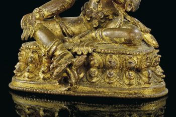 STATUE OF SYAMATARA IN GOLDEN BRONZE