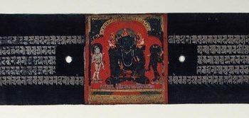 The Jina Buddha Akshobhya, Folio from a Pancharaksha (The Five Protective Charms)