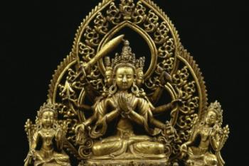 Bodhisattva Dharmadhātu Vāgīśvara (A Form of Bodhisattva Mañjuśri / Manjushri)