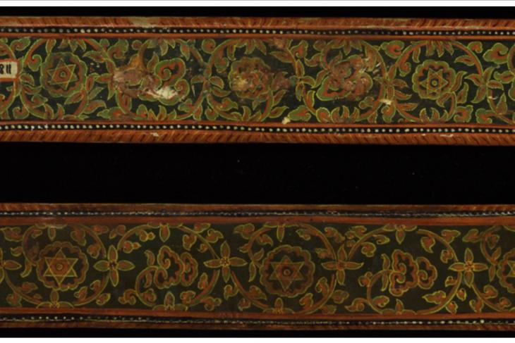 Devimahatmya manuscript covers ( a pair)