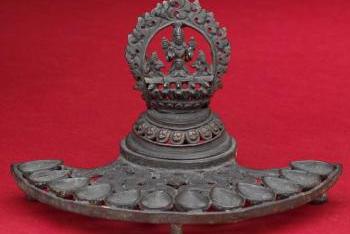 Ritual oil lamp