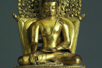 Buddha Shakyamuni in the Earth-touching gesture
