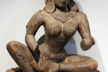 Seated goddess