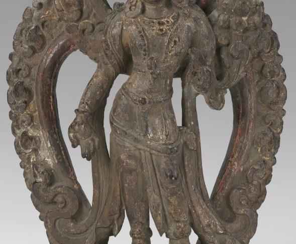 Lokeshvara and Mandorla